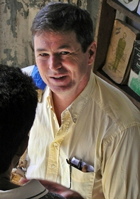 At the Escalera bookshop, Santiago de Cuba 2005